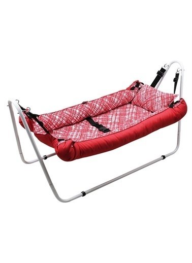 Rival Rv131 Portatif Bebek Hamak Beşik Kırmızı